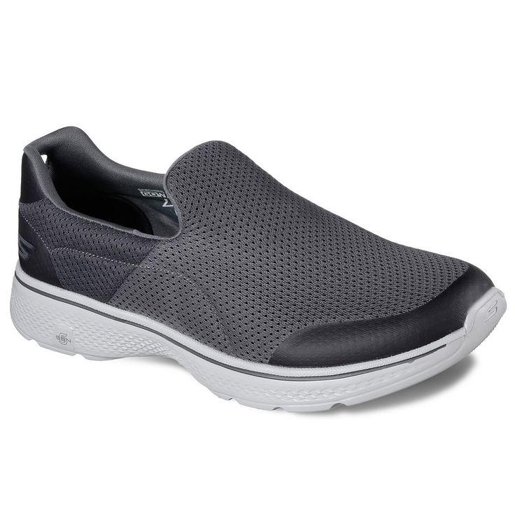 Skechers GO Incredible Men's Walking Shoes, Size: 9.5 Xw, Brown Over