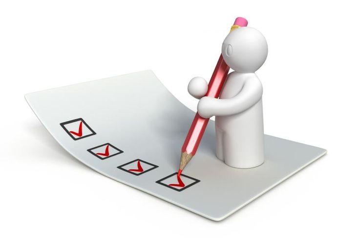 English Training Course Checklist.