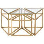Willa Arlo Interiors Marcia 3-Piece Coffee Table   Wayfair