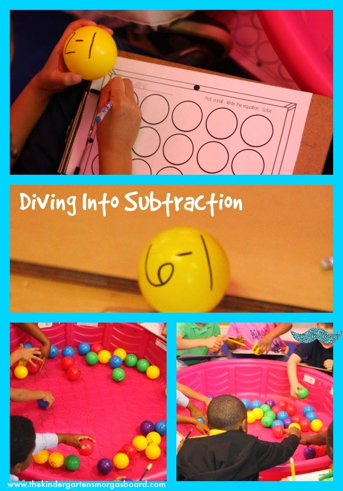 A great subtraction lesson that involves movement and fun!