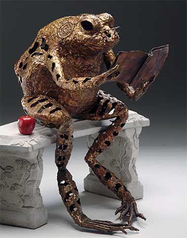 Farius?Metals Sculpture, The Metals, Lawns Sculpture, Metals Gardens Art, Welding Art, Metal Garden Art