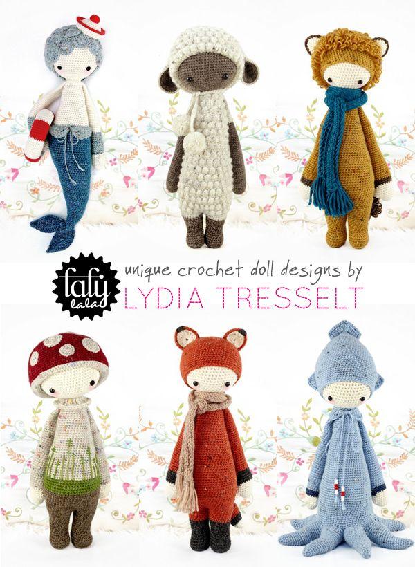 crochet crush : lalylala, the best amigurumi dolls on the block! | Emma Lamb