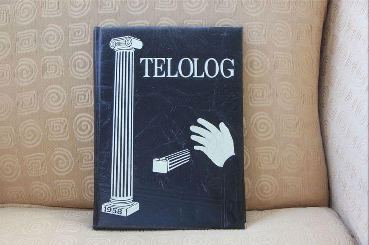 "St. Benedict's Prep High School Yearbook Telolog Class of 1958 Newark NJ ""Rare"""