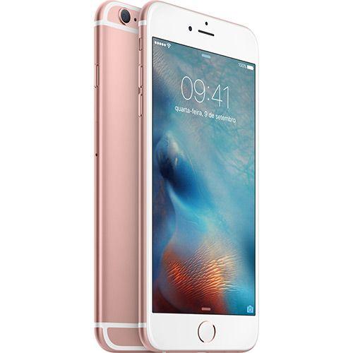 (Shoptime) iPhone 6s Plus 64GB Ouro Rosa Tela 5.5 ´ iOS 9 4G 12MP - Apple - de R$ 4899.99 por R$ 4047.12 (18% de desconto)