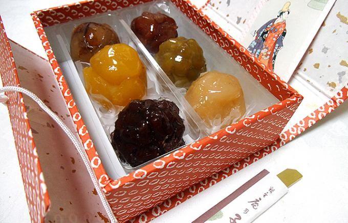 【銀座の手土産】栗と五色の豆の玉手箱。かのこといえば銀座鹿乃子