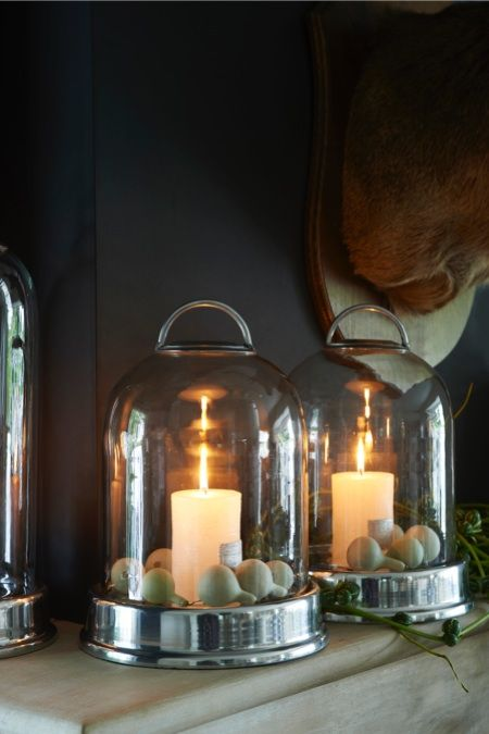 Rivièra Maison Official Online Store ® - accessoires | Candle Holders | Hurricane Lamps Large | Stanford Hurricane Big