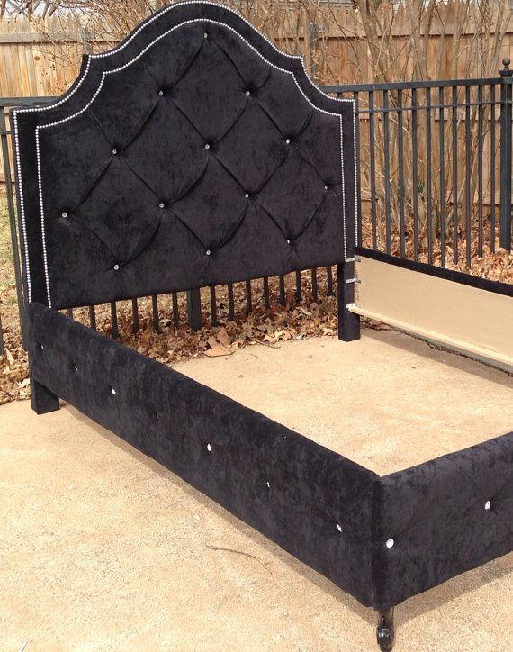 Custom Headboard King Bed