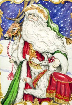 Santa and friend 2 - Michelle Phelps
