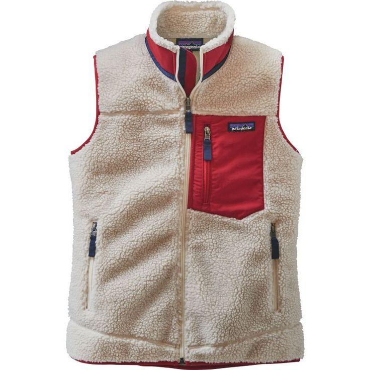 Patagonia Women's Reversible Classic Retro-X Fleece Vest, Size: Large, Natural #vestswomens