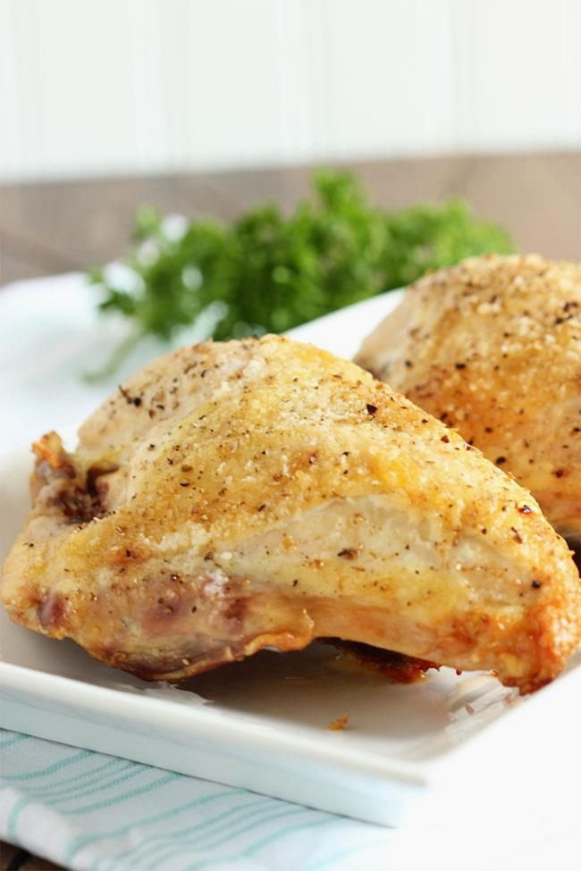 Pan Roasted Chicken Breast With Dijon Sauce And Crispy Pancetta Recipe ...