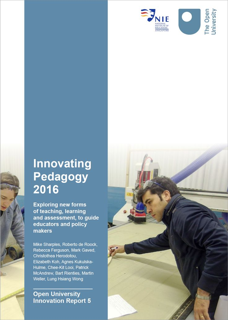 Innovating Pedagogy 2016 cover