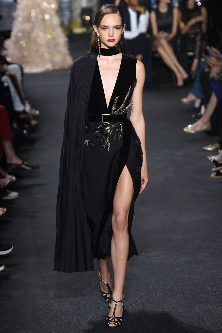 Elie Saab Fall 2016 Couture Fashion Show - Paulina Frankowska || @sommerswim