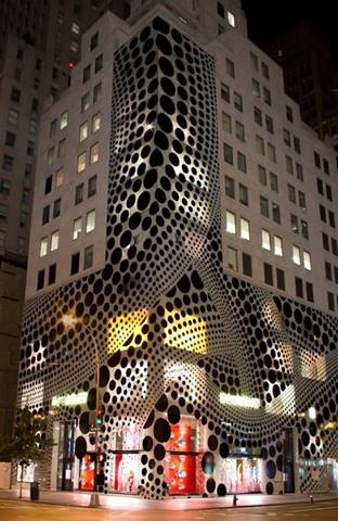 Louis Vuittons, flagship store @ New York