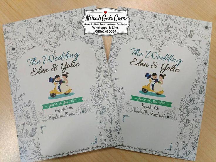 https://nikahgeh.com - Undangan pernikahan Elen & Yolic  Tanya-tanya atau info lebih lanjut hubungi :  WA : 08561410064 Line : nikahgeh Desain bisa cek di  http://nikahgeh.com  #weddingserang#undanganserang #infoserang #undanganminimalis #simpleinvitation  #undanganpernikahanmurah #undangancantik #pesanundangan #invitationserang#kotaserang#undangancilegon #undanganpandeglang#undanganmurah #undanganpernikahan#undanganonline #undangankreatif#undanganunik#nikah…
