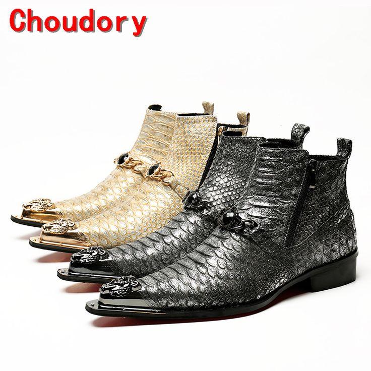 Choudory золото черные военные ботинки для продажи платье военные сапоги стальной носок, рабочая обувь мужчины сторона zipe челси сапоги botas militares(China (Mainland))