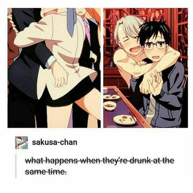 Que pasaría si los dos estuvieran tomados de copas al mismo tiempo ?  Ay muchas cosas wuuuuu