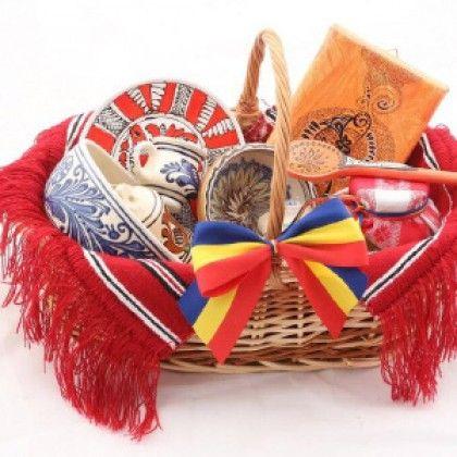 Coșuri tradiționale - Cadouri Tradiționale
