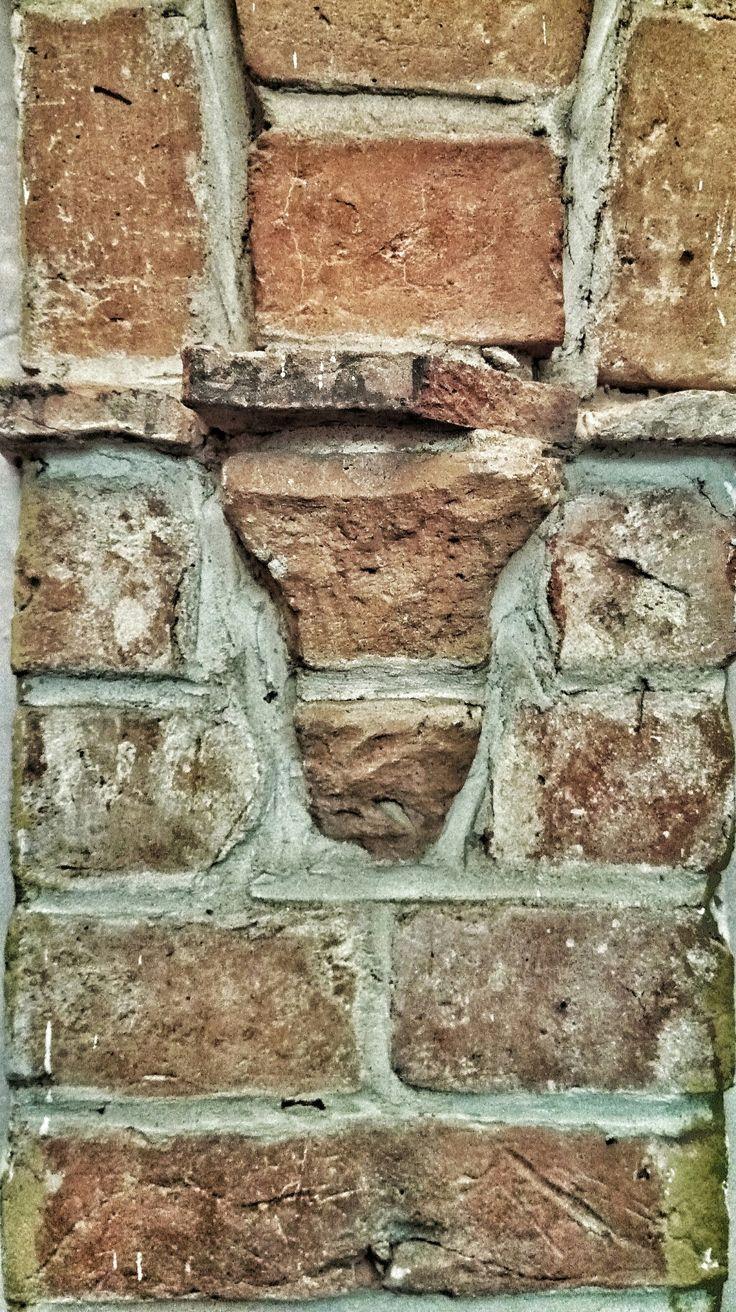 15th cent. brick wall