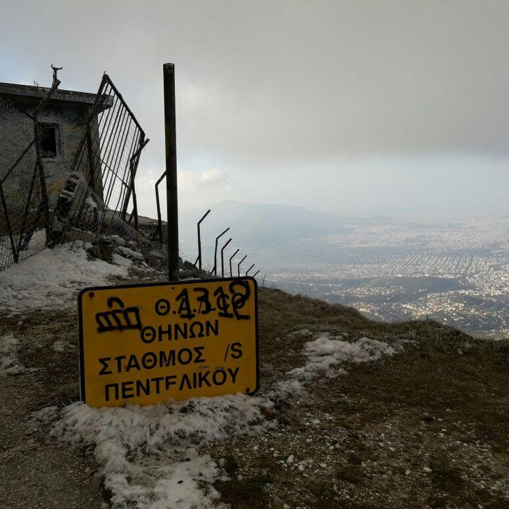 Mount Penteli, Athens, Greece