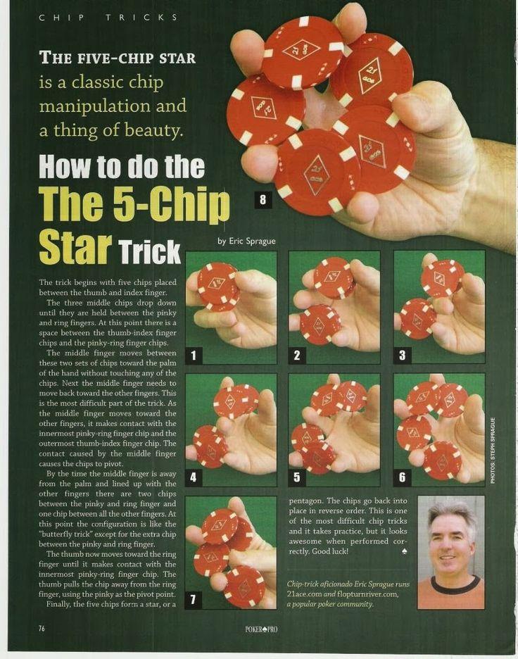 Poker chip tricks video