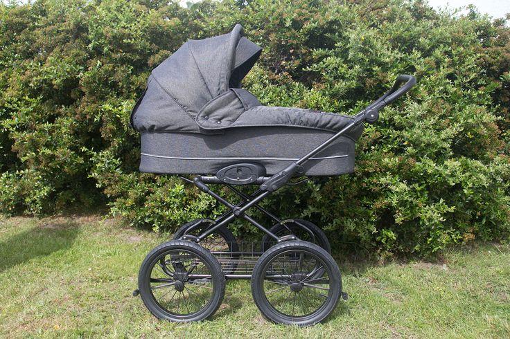 Basson Baby Grande Soft - klassischer Kinderwagen mit 97cm Liegefläche <3
