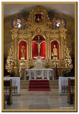 Miagao Church Altar - Miagao, Iloilo