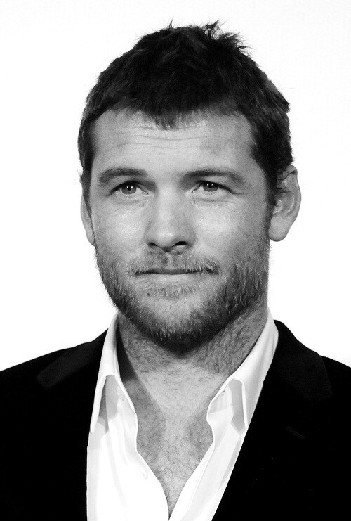 Sam Worthington,bearded for (my) pleasure!