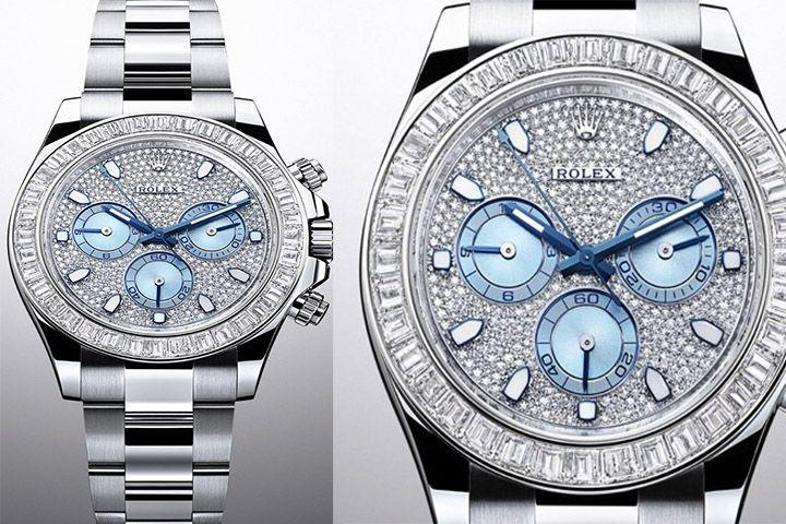 #Rolex2014 Cosmograph: Rolex Daytona Platinum, Diamonds www.luxuryvolt.com
