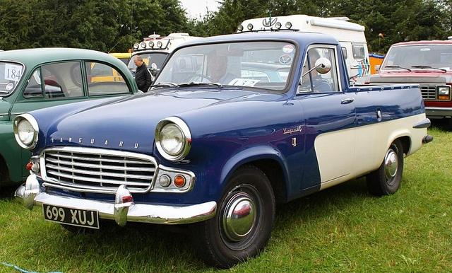 1962 Standard Vanguard Six Pickup by David ..., via Flickr