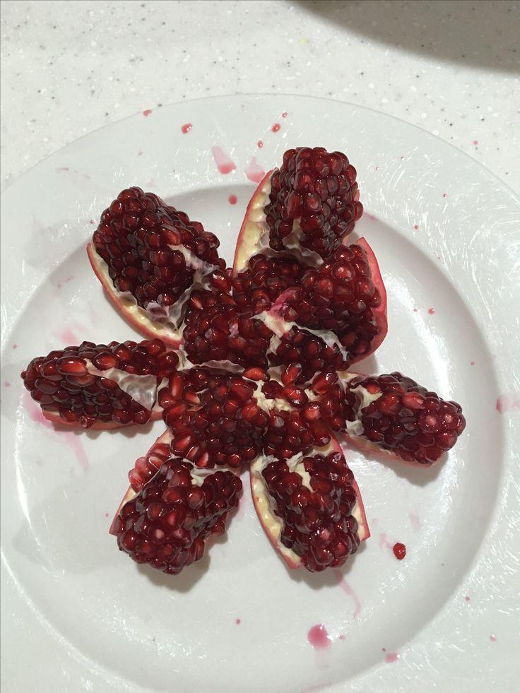 Pomegranate ❤️ - Annie Milne Pinterest - @anniemilnne ♡