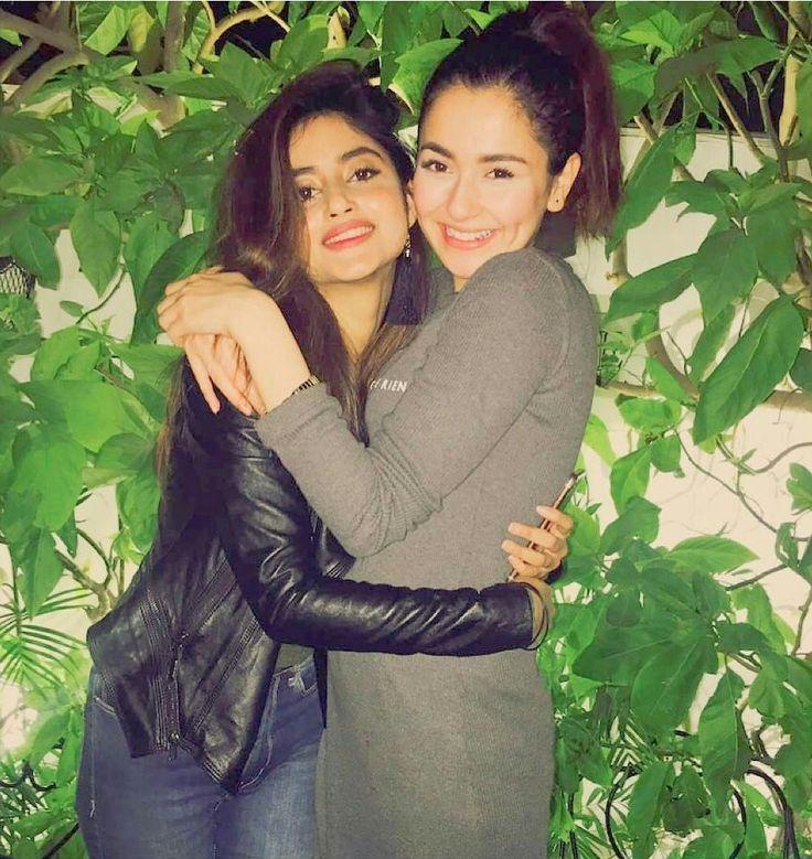 Sajal Ali with Hania Amir