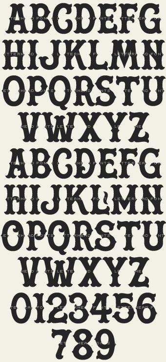 Letterhead Fonts / Boston Ballpark / Vintage Baseball Fonts
