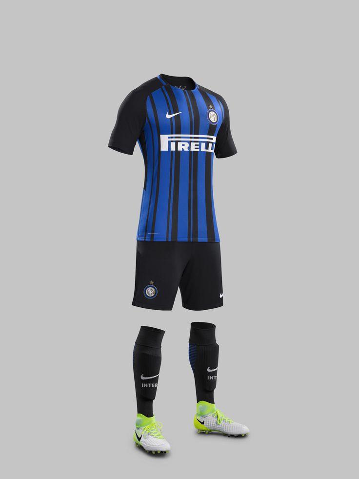 Camisas da Inter de Milão 2017-2018 Nike | Mantos do Futebol Camisas de Futebol