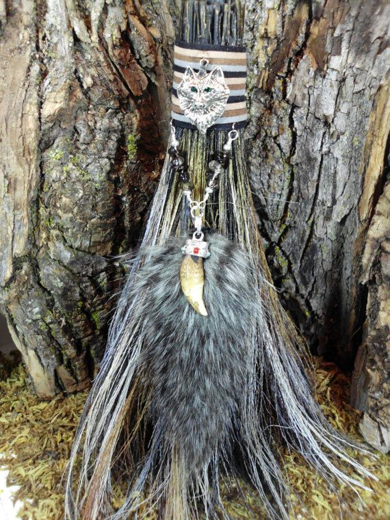 Wolf Totem Besom, Altar Broom, Custom Order Witches Broom, Witchcraft, Wicca,  Totem Animal, Spirit Animal, Trust, Guidance, Strength