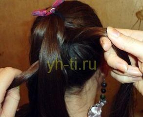 коса из 6 прядей