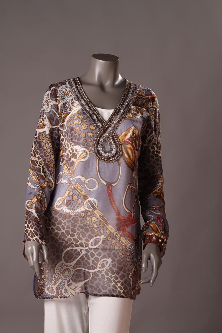 Tunic Silk Beach Club