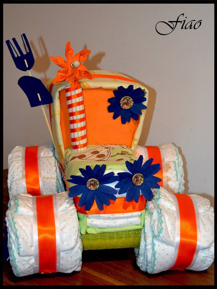 Baby Gift Baskets California : Images about pastel on baby diaper cakes