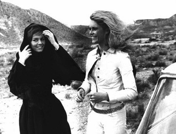 Brigitte Bardot & Michele Mercier