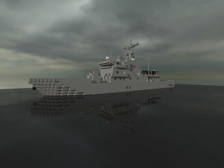 Minecraft Ship Blueprints