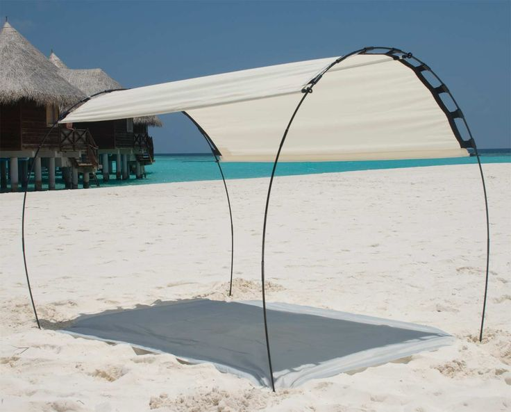 Titanium Easy Solar Tent - Custom Adjust Shade -Beige Color