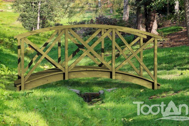 Petits ponts - Rambarde Croix Saint André | Tootan