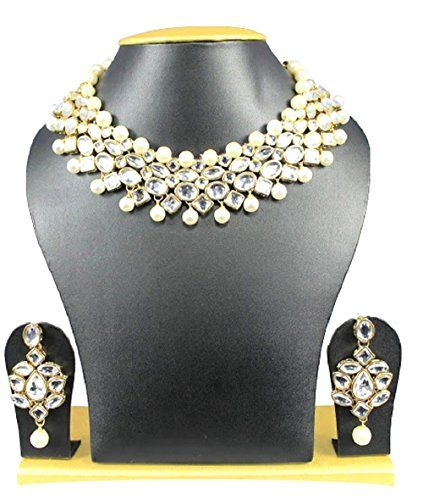 Ethnic Indian Bollywood Gold Plated White Pearls Kundan P... https://www.amazon.com/dp/B06Y5QZ1VR/ref=cm_sw_r_pi_dp_x_ay2rzbV4EA511