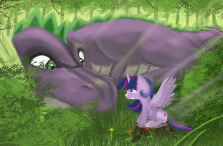 twilight and spike relationship problems