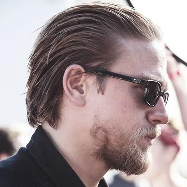 How To Get The Jax Teller Hairstyle Jax Teller Haircut Long Hair Styles Men Slicked Back Hair