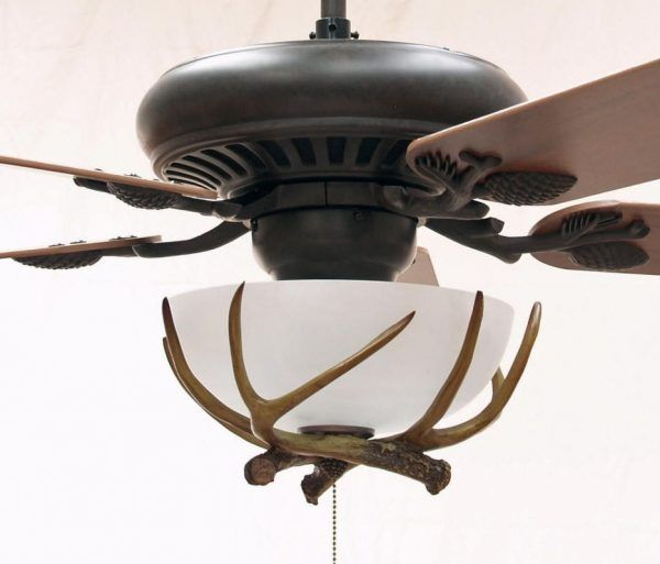 Copper Canyon Sandia Rustic Ceiling Fan Shown With