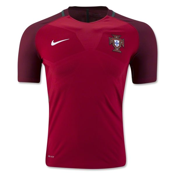 Portugal 2016 Authentic Home Soccer Jersey