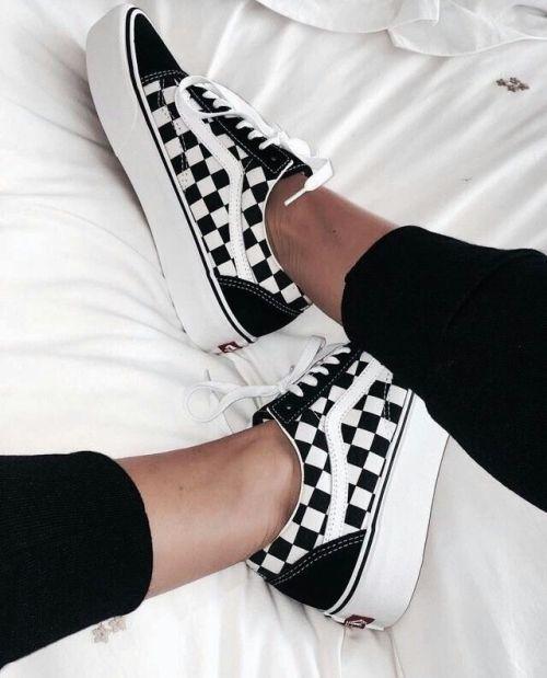 2vans zapatillas mujer cuadros