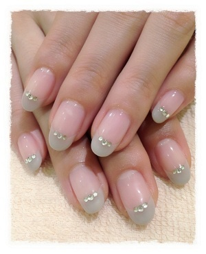 Neutral french nail | See more at http://www.nailsss.com/colorful-nail-designs/2/