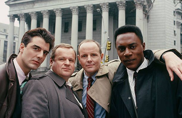 Chris Noth as Detective Mike Logan George Dzundza as Detective Maxwell 'Max' Greevey Michael Moriarty as Executive ADA Ben Stone Richard Brooks as...