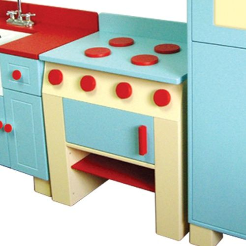 A+ Childsupply Country Kitchen - Stove - Play Kitchens at Hayneedle